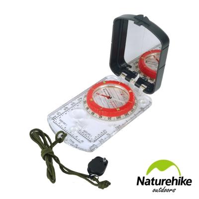 Naturehike 多功能夜光帶燈指南針 指北針 地質羅盤儀