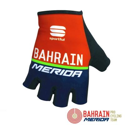 《Bahrain Merida》巴林 美利達 車隊版短手套 紅/藍