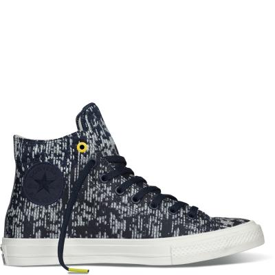 CONVERSE-男女休閒鞋153561C-藍白黑
