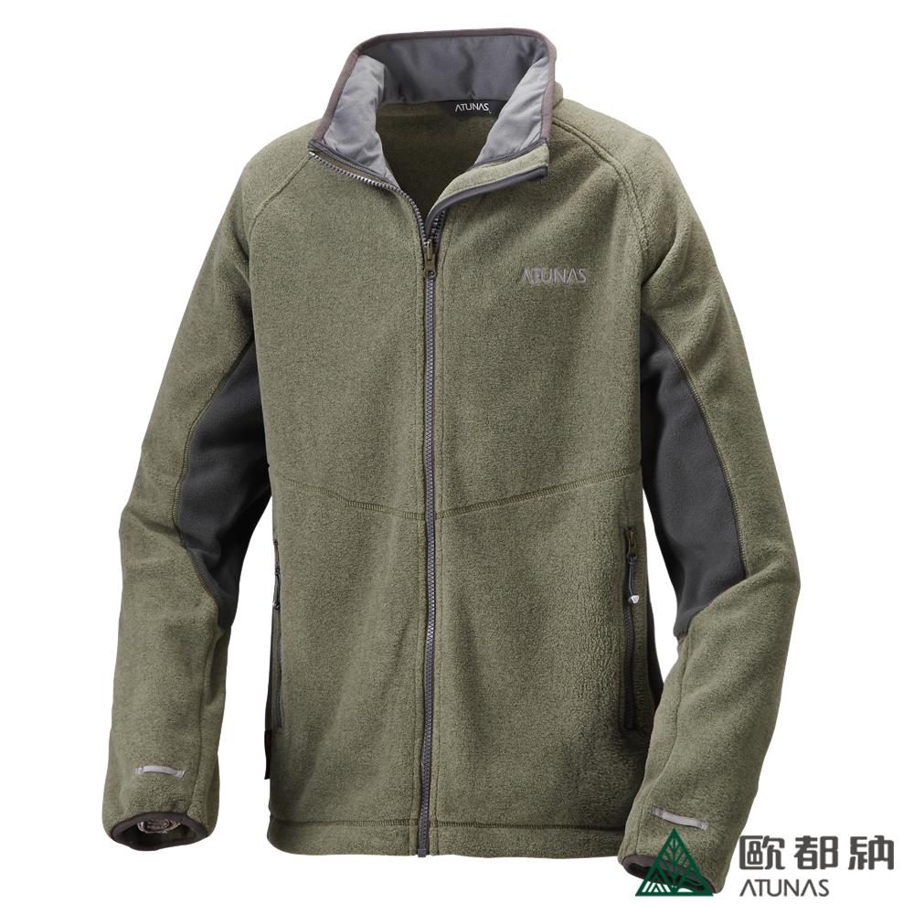 歐都納 A-G1253M POLARTEC 刷毛保暖外套