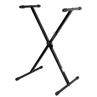 X型單管可調式五段收納電子琴架