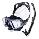 V.DIVE Combo 威帶夫潛水精品組-TC401B 碳纖藍