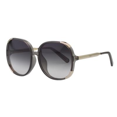 CHLOE太陽眼鏡 圓框 經典款(透明灰)CE721SA-036