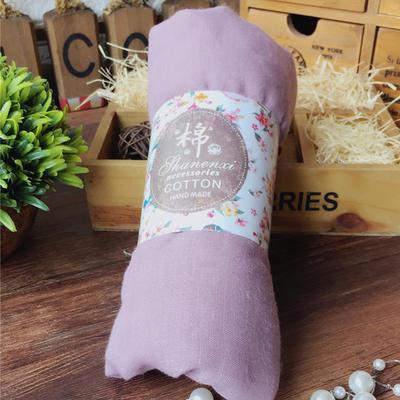 ACUBY-糖果風多層次搭配薄圍巾-淺紫