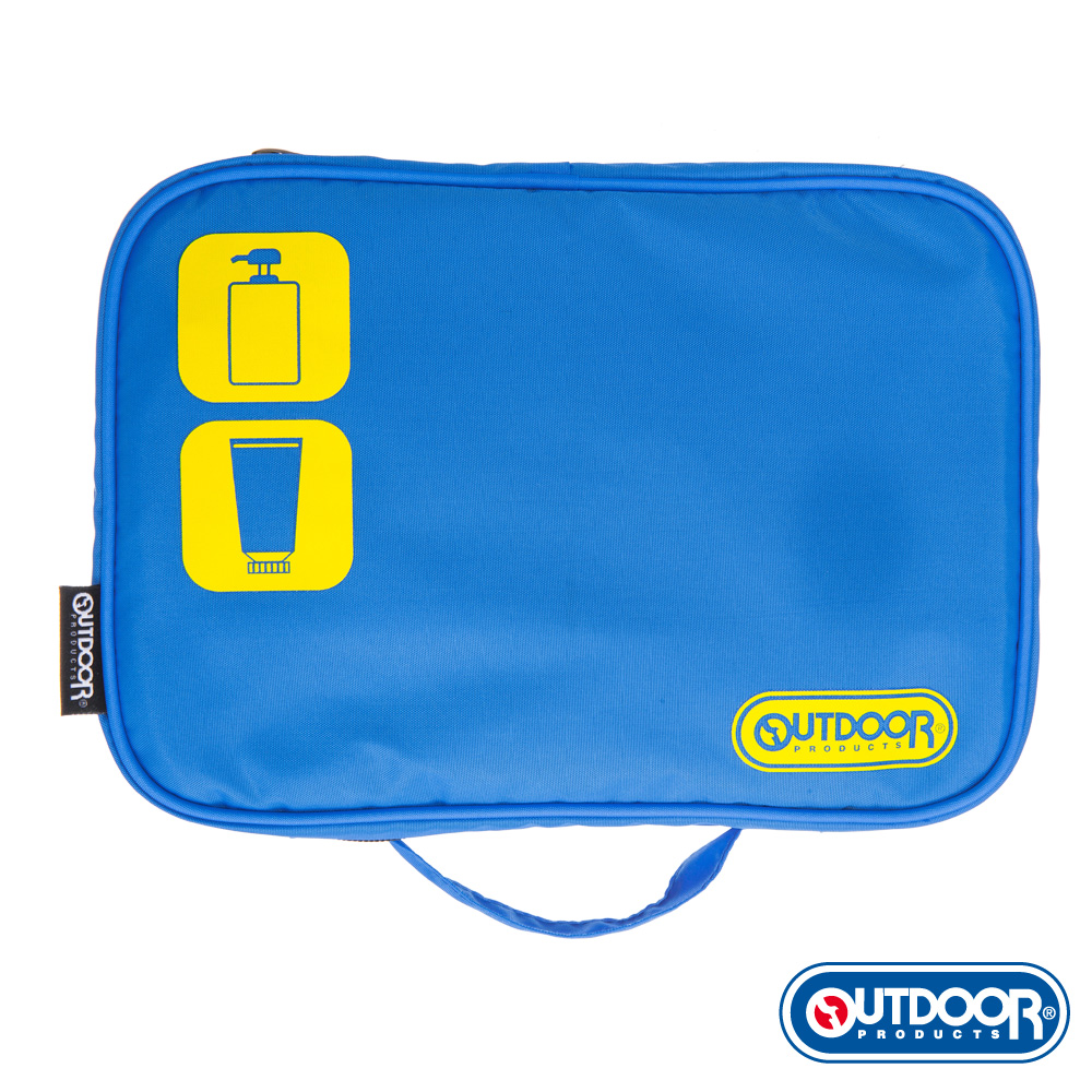 OUTDOOR-旅遊配件-盥洗包 藍-ODS15B05BL