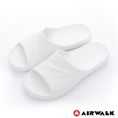 美國 AIRWALK 輕盈柔軟AJ拖鞋-白色