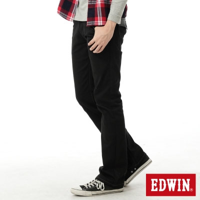EDWIN-大尺碼EDGE伸仕精神中直筒褲-男款