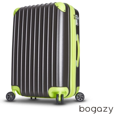 Bogazy 絢光魔力 24吋電子抗刮PC旅行箱(時尚灰)