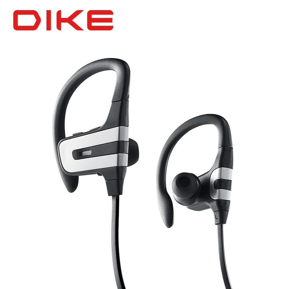 DIKE 耳掛式運動藍牙耳機麥克風/黑 DEB300