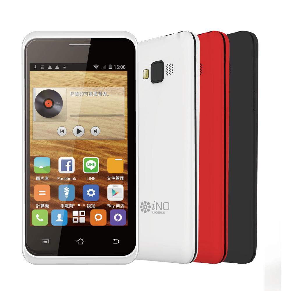 iNO 4 4吋雙核3G智慧手機(無照相功能)