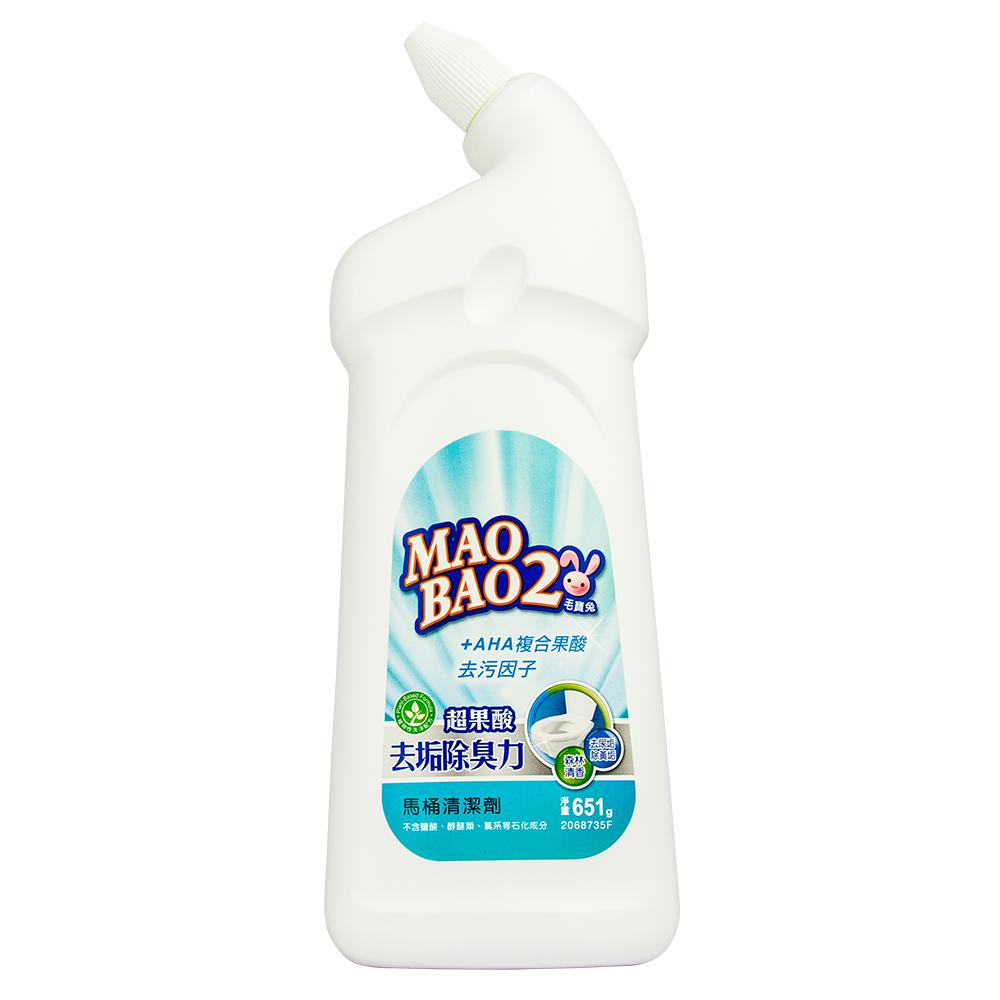 毛寶兔超果酸馬桶去垢除臭清潔劑