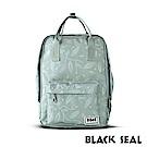BLACK SEAL 聯名8848系列-多隔層休閒小方型後背包-嫩綠色BS83008