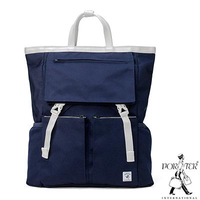 PORTER - 城市旅者UNION輕量造型後背包 - 藍