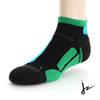 JZ  萊卡彈力無限專業運動機能慢跑襪(26-29cm)-綠