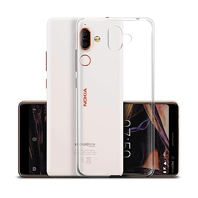 Xmart for NOKIA 7 plus超薄清柔水晶保護套