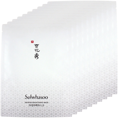 Sulwhasoo雪花秀 滋晶雪瀅煥白面膜(20g)10sheets
