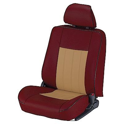 【葵花】量身訂做-汽車椅套-合成皮-酷龍N式-轎車款第1+2排