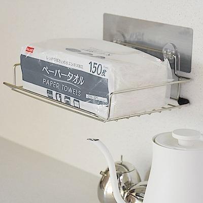樂貼工坊 衛生紙架/不鏽鋼/金屬貼面(2入組)-24x18x4cm