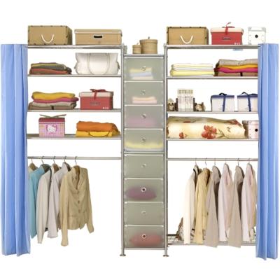 巴塞隆納─W4型90+D+W5型90衣櫥置物櫃