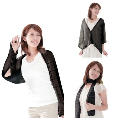 《日本3用式》透氣排熱抗UV罩衫
