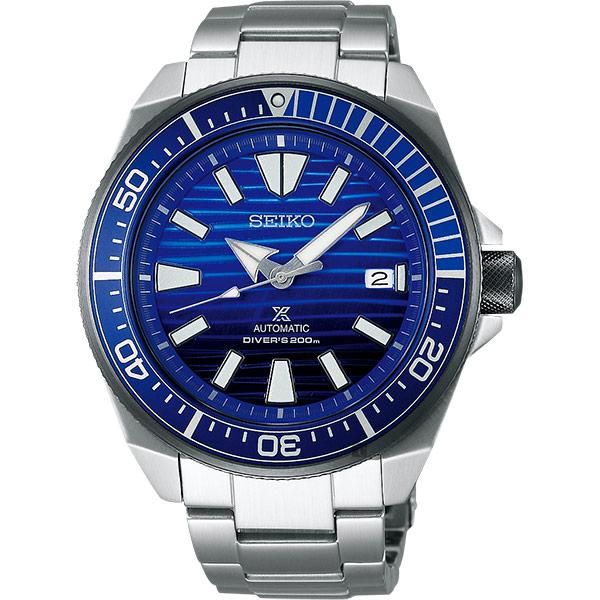 SEIKO精工 Prospex 200米潛水愛海洋藍鯨機械錶-45mm 4R35-01X0B