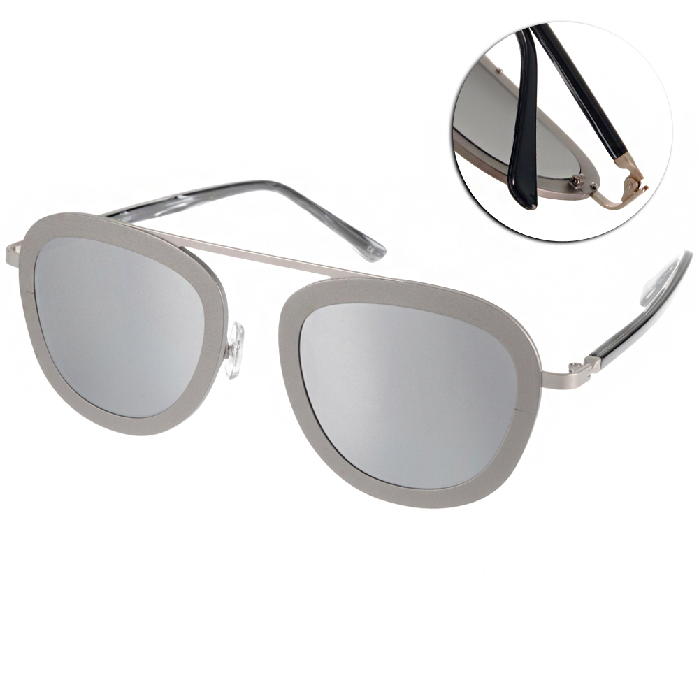 STEALER太陽眼鏡 個性飛官款/銀-白水銀#SLKARMA C18M