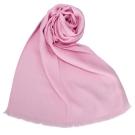 GUCCI 經典滿版LOGO真絲羊毛圍巾披肩-粉紅色