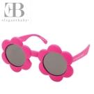 Elegant Baby 桃紅小花款抗UV造型太陽眼鏡
