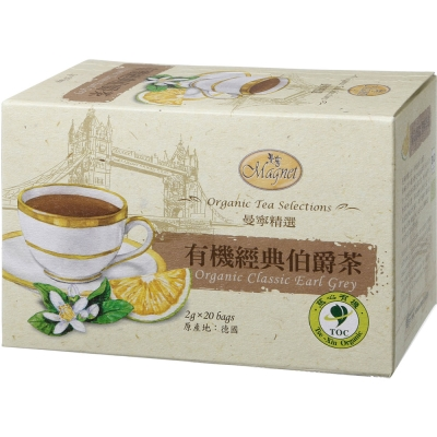 曼寧 有機經典伯爵茶(2gx20入)