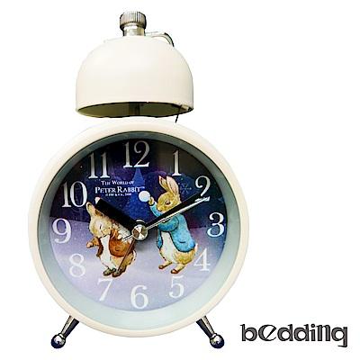 原廠授權比得兔Peter Rabbit彼得兔-打雪仗單鈴鬧鐘