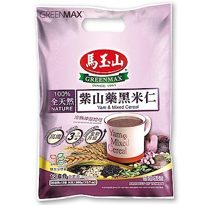 馬玉山 紫山藥黑米仁(30gx12入)