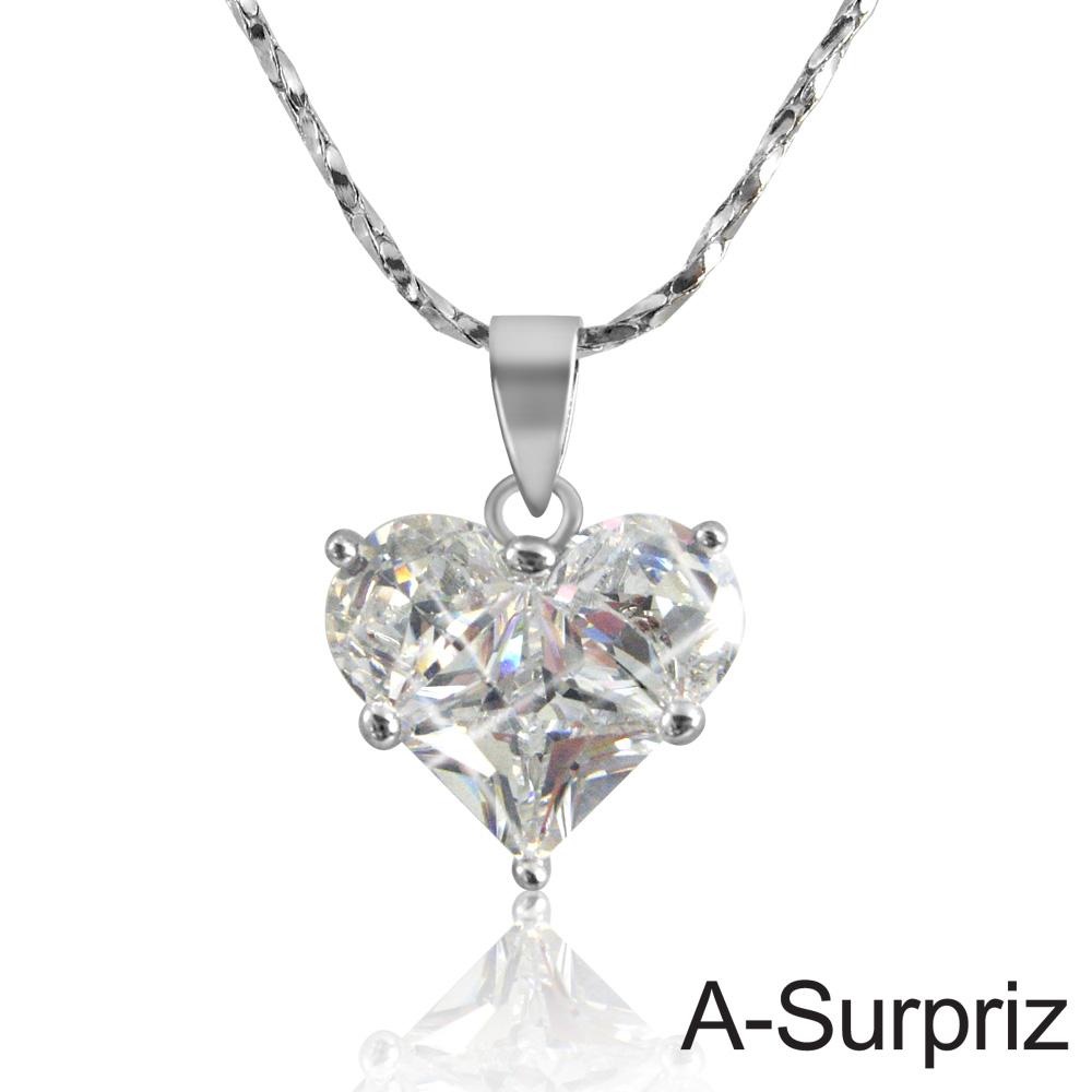 A-Surpriz 一見傾心鋯石項鍊
