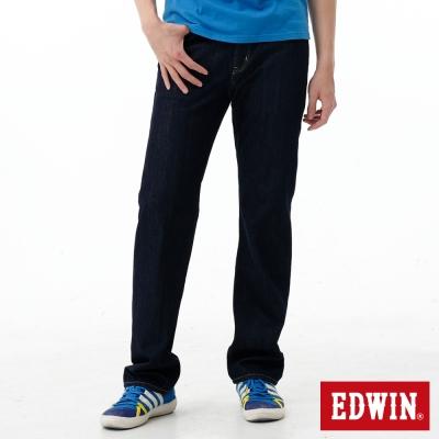 EDWIN-中直筒-REBEL基本五袋牛仔褲-男