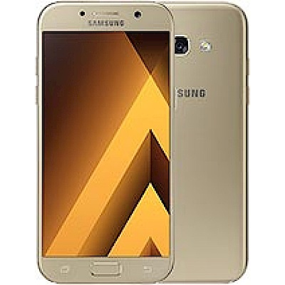 Samsung Galaxy A7 5.7吋八核防水自拍機(2017版)-炫浪金