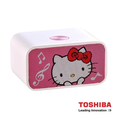 TOSHIBA Hello Kitty NFC藍牙喇叭音響TY-WSP53KTTW