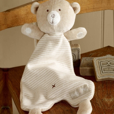 英國Natures Purest天然有機棉-抱抱熊抓抓樂(PTHM0110640)