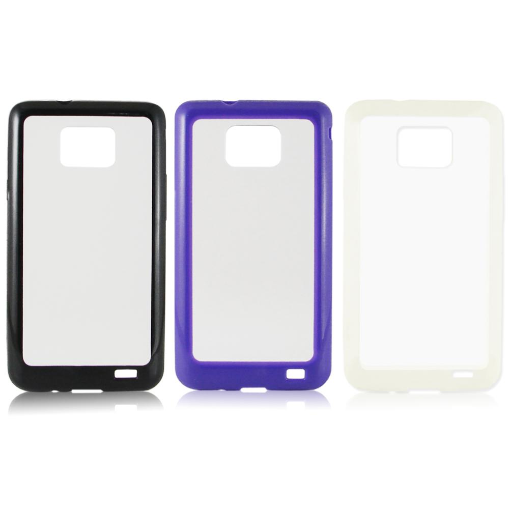 Samsung Galaxy S2 i9100 時尚彩色雙料保護殼