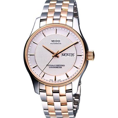 MIDO Belluna II 天文台認證機械腕錶-半金/39mm
