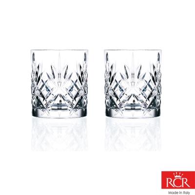 義大利RCR梅洛迪無鉛水晶威士忌杯(2入)230cc