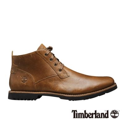 Timberland 男款咖啡色粒面Kendrick休閒鞋