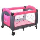 EMC 嬰幼兒安全遊戲床(幸福紅)+雙層架+尿布台