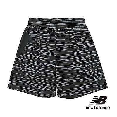 """NB DRY運動7""""短褲 AMS53053BGR 男性 黑色"""