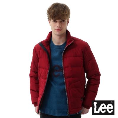 Lee羽絨外套90/10-男款-藏紅色