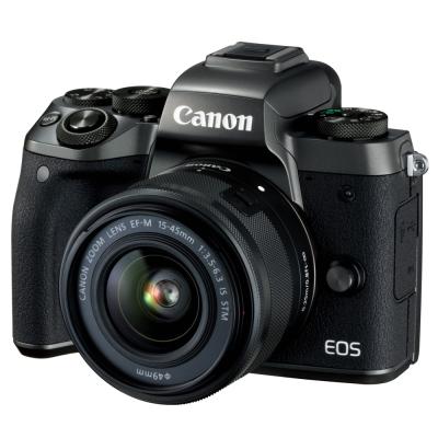 【豪華組】Canon EOS M5 15-45mm STM 變焦鏡組 (公司貨)