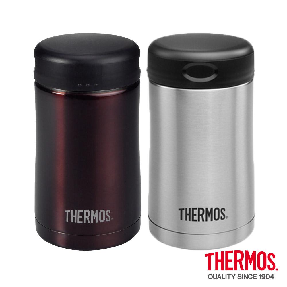 THERMOS膳魔師 不鏽鋼真空保溫食物燜燒罐0.5L(JCG-500)