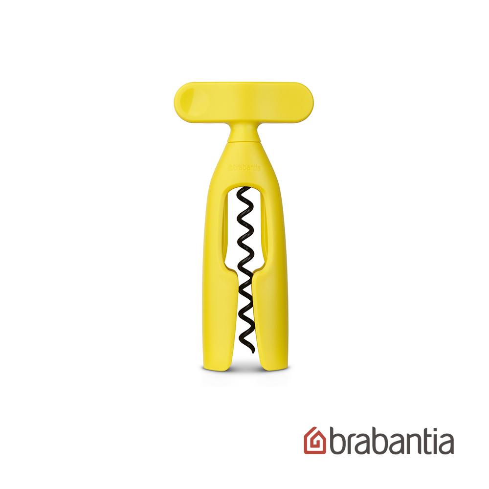 【Brabantia】粉彩紅酒開罐器-黃