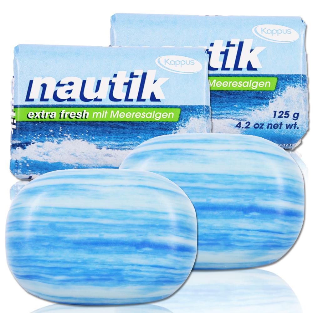 德國Kappus海洋墨角藻緊緻嫩白皂125g四入