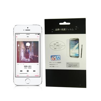 APPLE iPhone5/5S/SE 亮面防指紋 螢幕保護貼