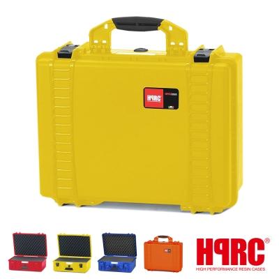 義大利 HPRC 2500C 頂級防撞硬殼箱-內泡棉式(公司貨)-黃色