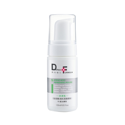 DF美肌醫生-胺基酸清新潔顏慕斯120ml控油型